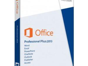 LICENCIA OFFICE PROFESSIONAL PLUS 2013 32/64-BIT 1 PC ORIGINAL