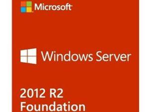 LICENCIA MICROSOFT WINDOWS SERVER 2012 R2 FOUNDATION