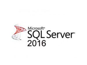 LICENCIA MICROSOFT SQL SERVER 2016 STANDARD