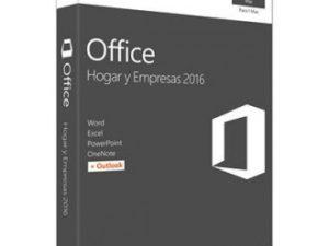LICENCIA OFFICE HOGAR Y EMPRESAS 2016 PARA MAC