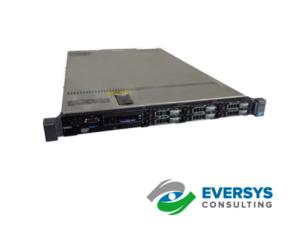 32GB Dell PowerEdge R610 Server 2x 2.4 GHz Quad Core 2x 146GB 15k PERC6 RPS